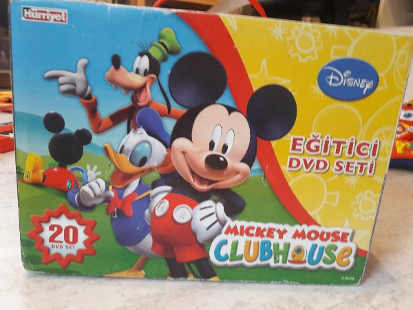 Mickey Mouse Club House Eğitici DVD Set- 20 adet