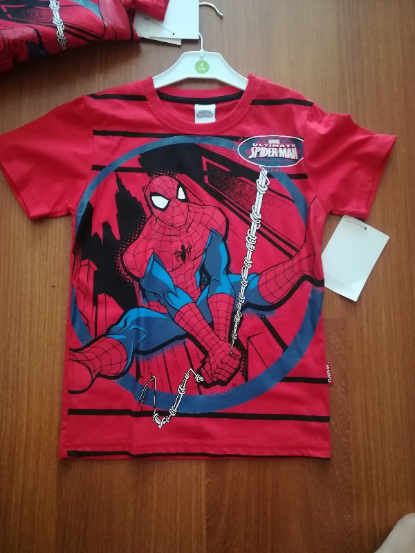 Marvel spiderman tisort