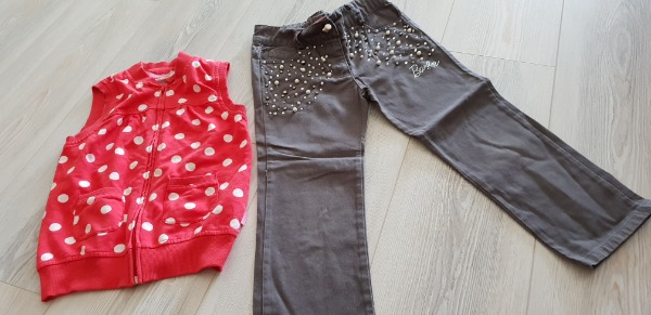 Barbie pantalon ve lcw yelek