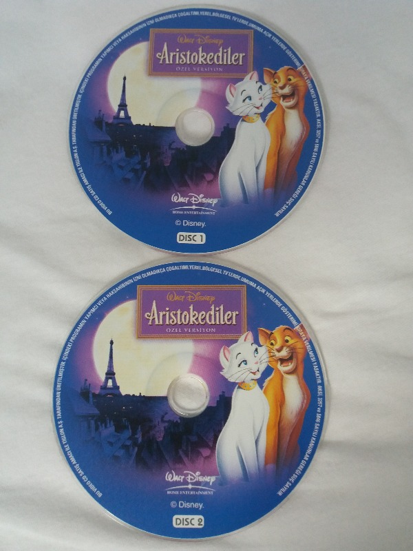 DISNEY ARISTOKEDİLER çizgi film