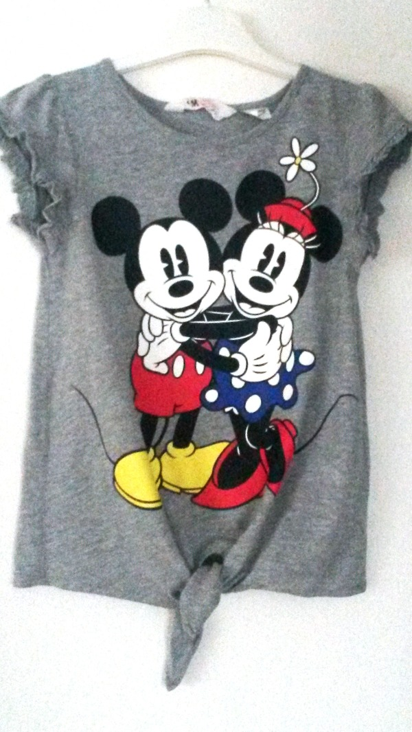 GRİ RENKLİ MINNIE MOUSE T-SHIRT