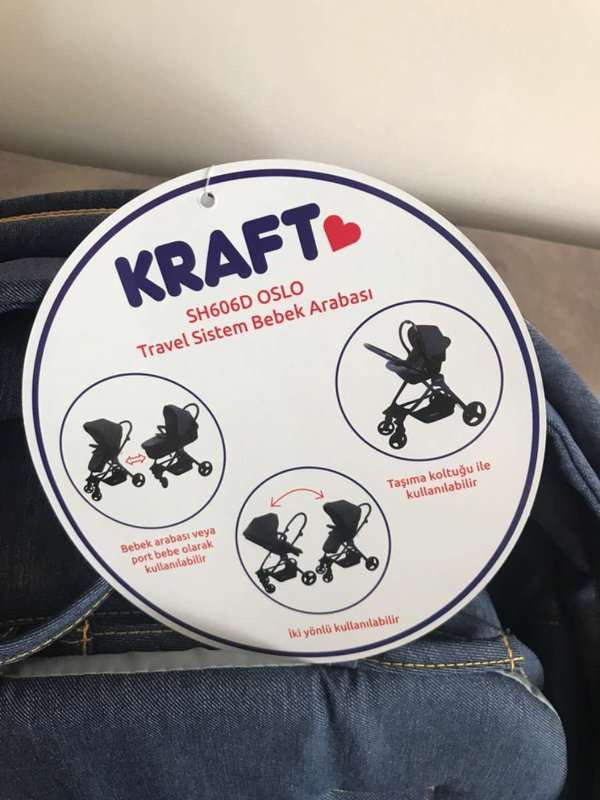 Kraft Travel Sistem Bebek Arabası