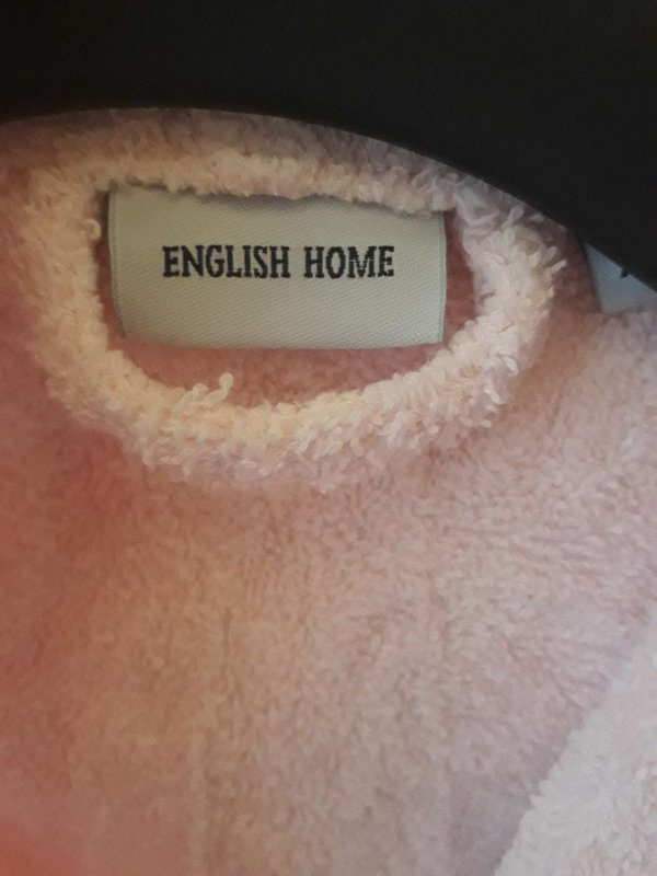 English Home 9-12 Ay Pembe Kız Bornoz & Havlu