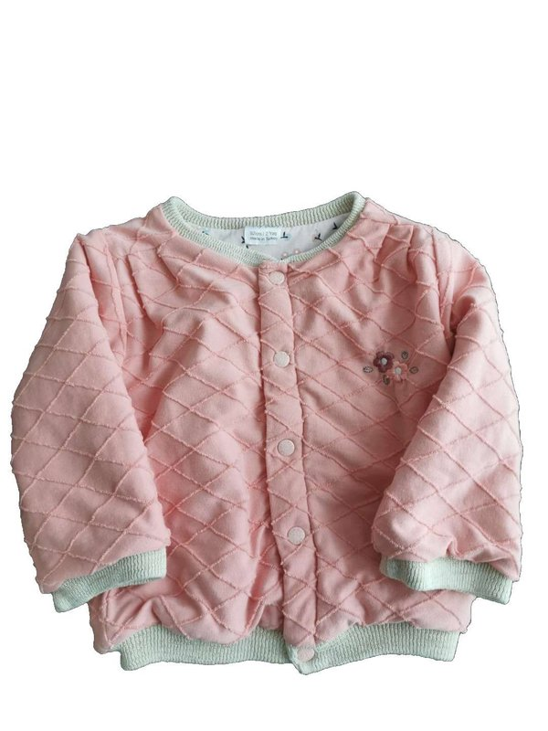 For My Baby 18-24 Ay Pembe Kız Sweatshirt