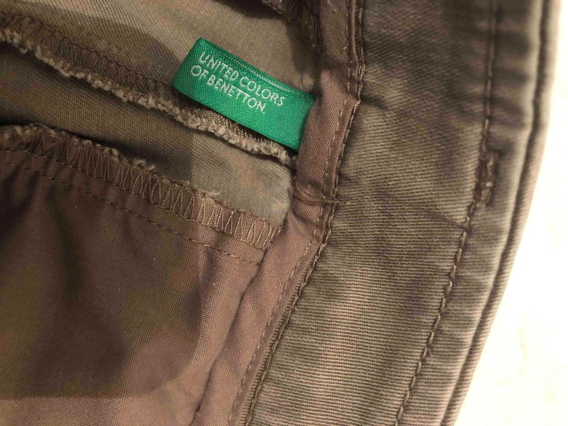 Benetton XS Beden Vizon Pantolon